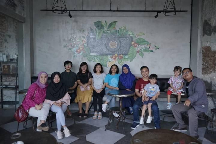 Memanfaatkan Gudang Kopi sebagai lokasi meeting team MyBest Indonesia