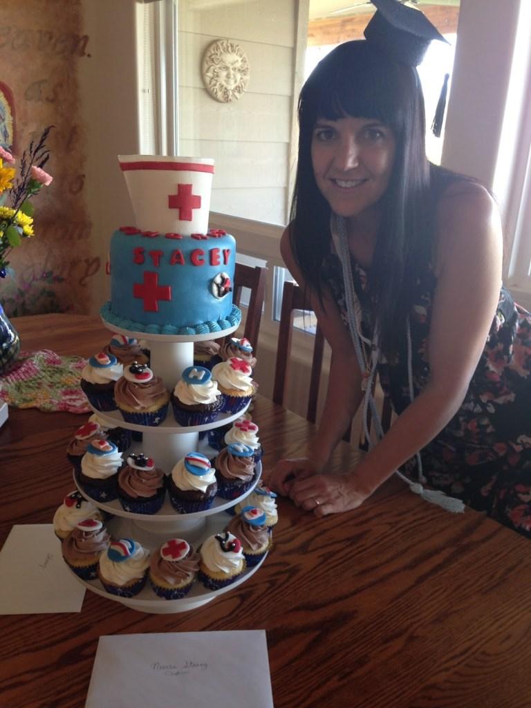 Nurse Mom (those cupcakes were AMAZING!)