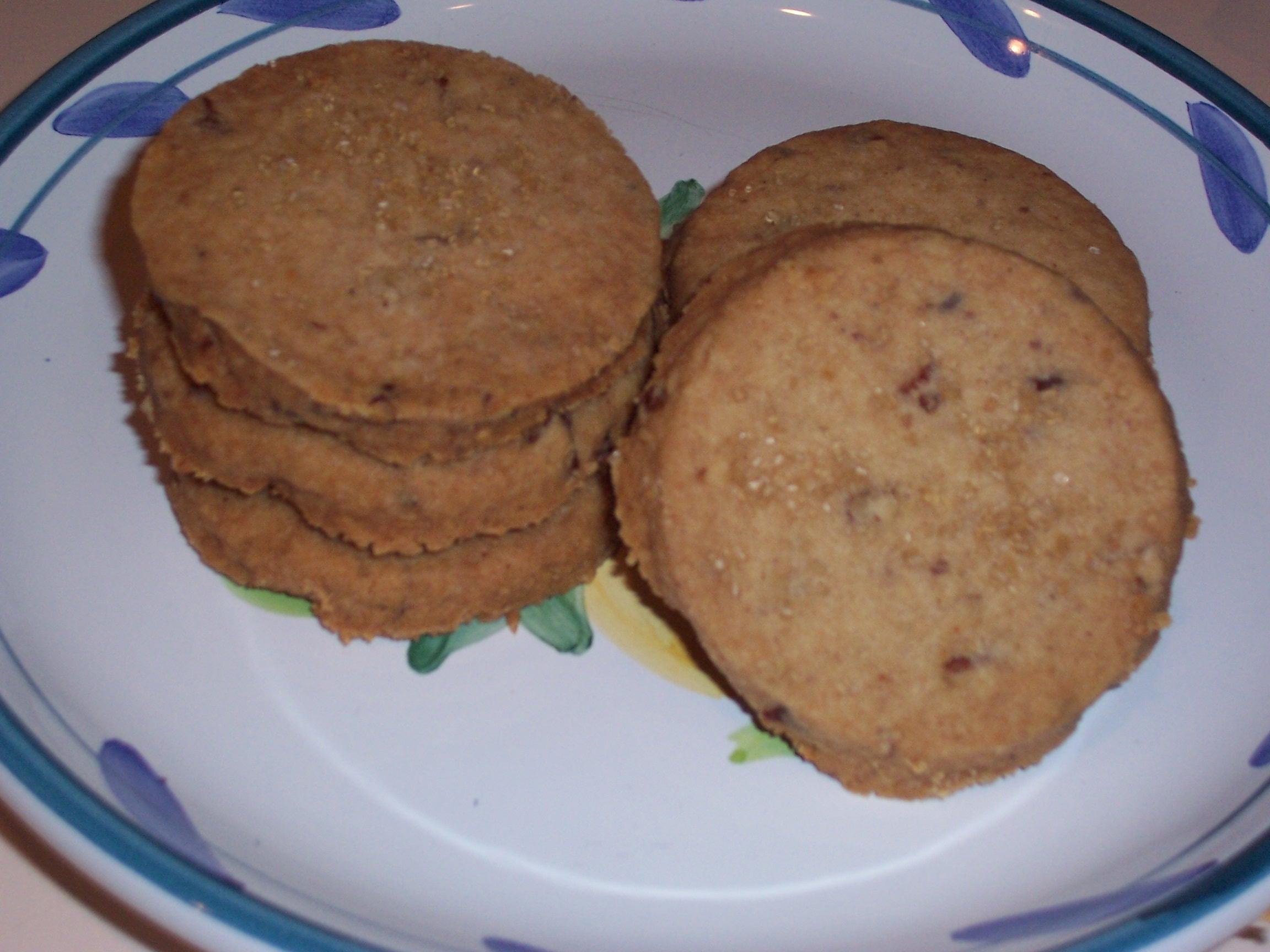 World's Best Pecan Shortbread Biscuits