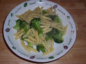 Broccoli and Penne Rigati