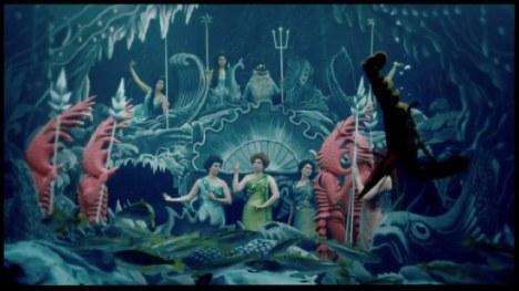 """""""La conquête du pôle"""", 1912 basé sur """"Les voyages et aventures du capitaine Hatteras"""" de Jules Vernes."""