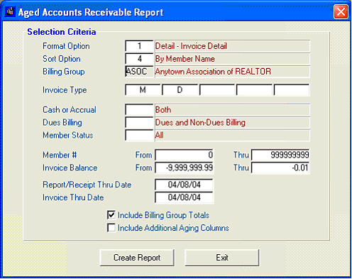 Aged Accounts Receivable for Credit Balances - Rapattoni Corporation