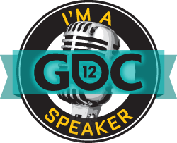 I'm a GDC Speaker button
