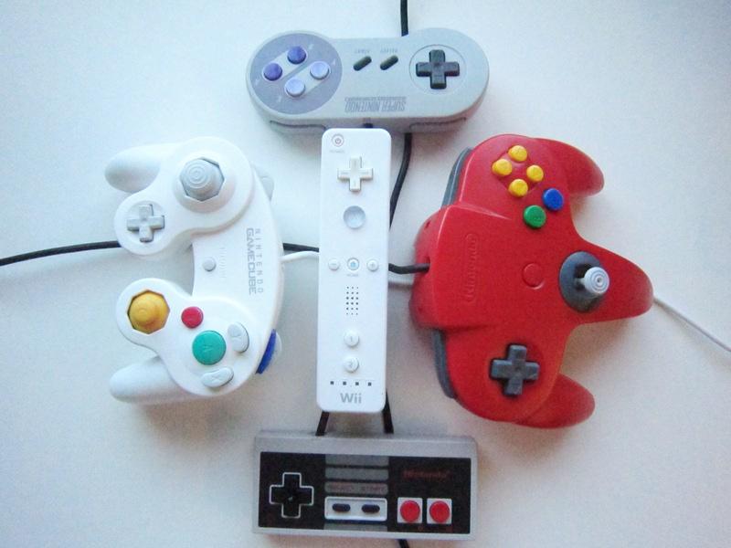 Extenmote NES, SNES, N64 or Gamecube controller on Wii or Wii U via