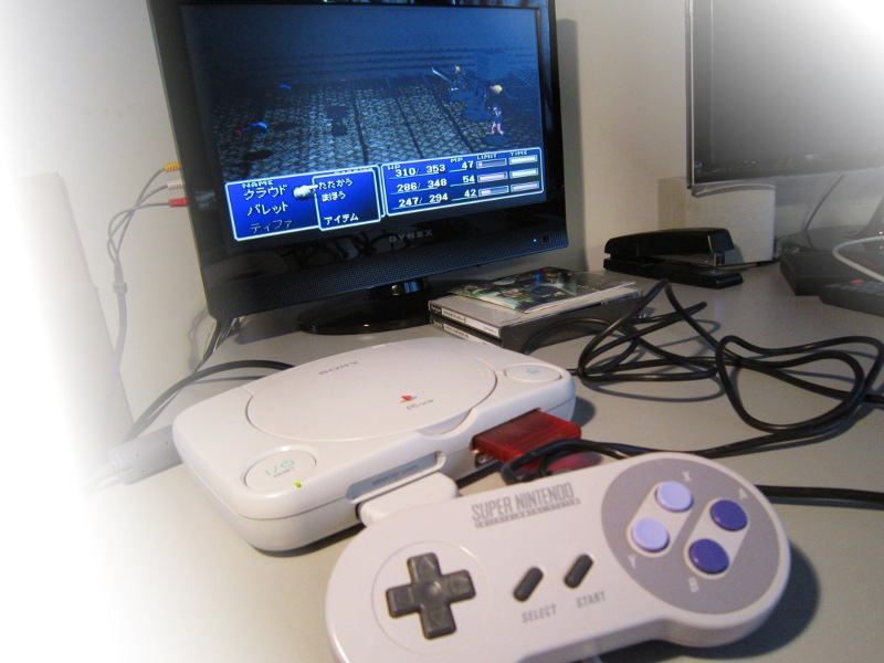 SNES to PSX SNES controller to Playstation adapter