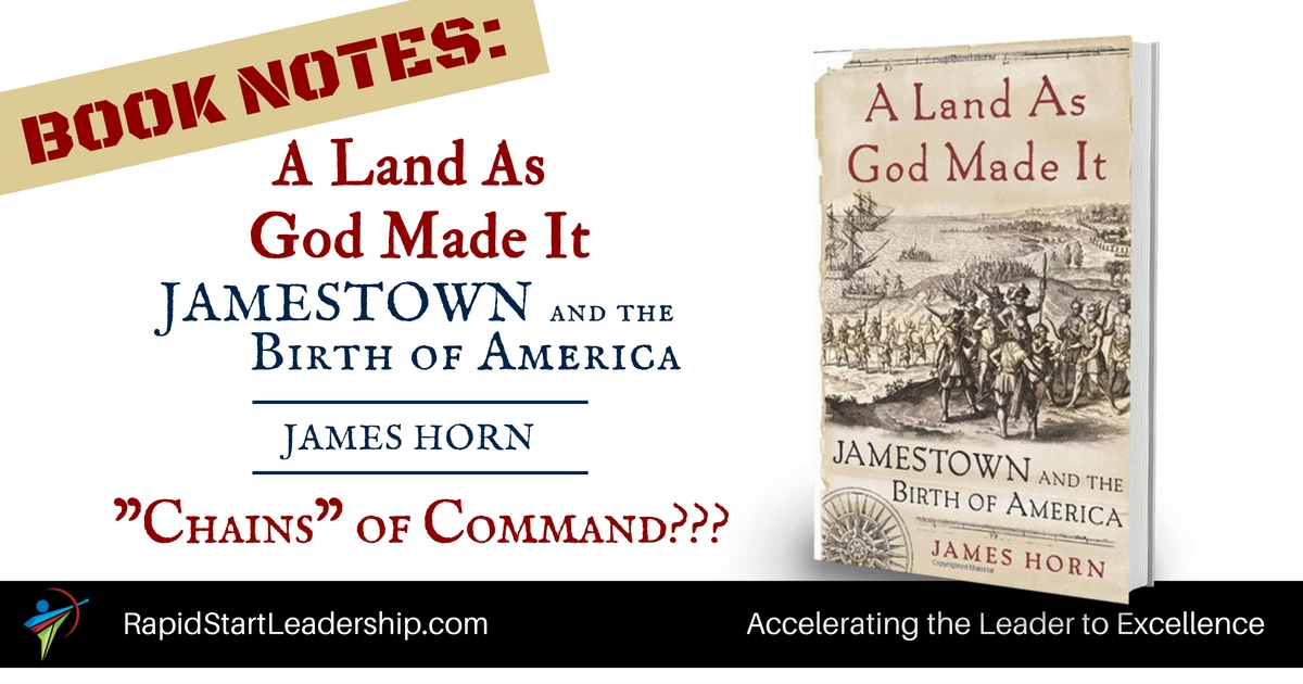 Unity of Command in Jamestown