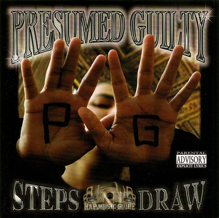 Presumed Guilty - 10 Steps And Draw CD Rap Music Guide