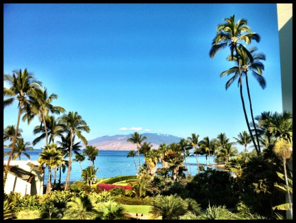 The year ended in Maui. If you gotta be on the road during a holiday, this is the way to do it...