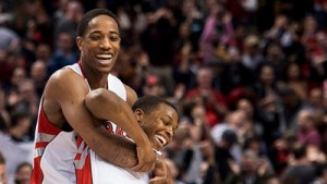 DeRozan, Lowry share Eastern Conference Player of the Month