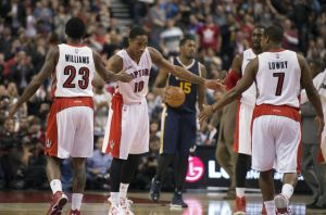 The unsustainability of the Raptors offense
