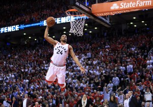 Toronto Raptors come out firing on all cylinders in Game Five victory