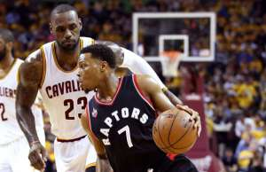 The Raptors are simply outclassed by Cavaliers