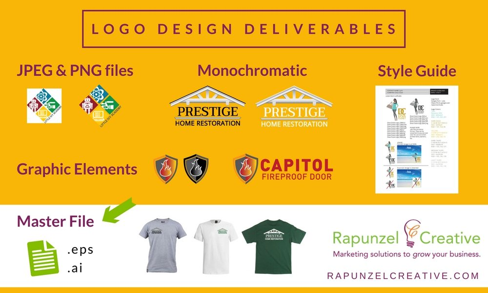 Deliverables You Need in Your Logo Design Package - Rapunzel
