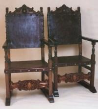 Renaissance Architectural - Renaissance Chairs, Spanish ...
