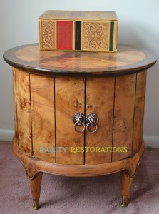 Finding Vintage Furniture - Weiman Table