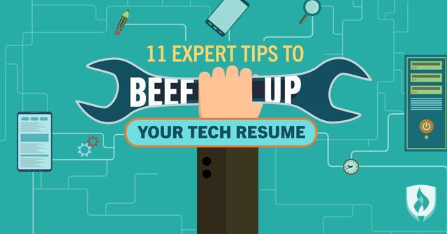 11 Expert Tips to Beef Up Your Tech Resume Rasmussen College
