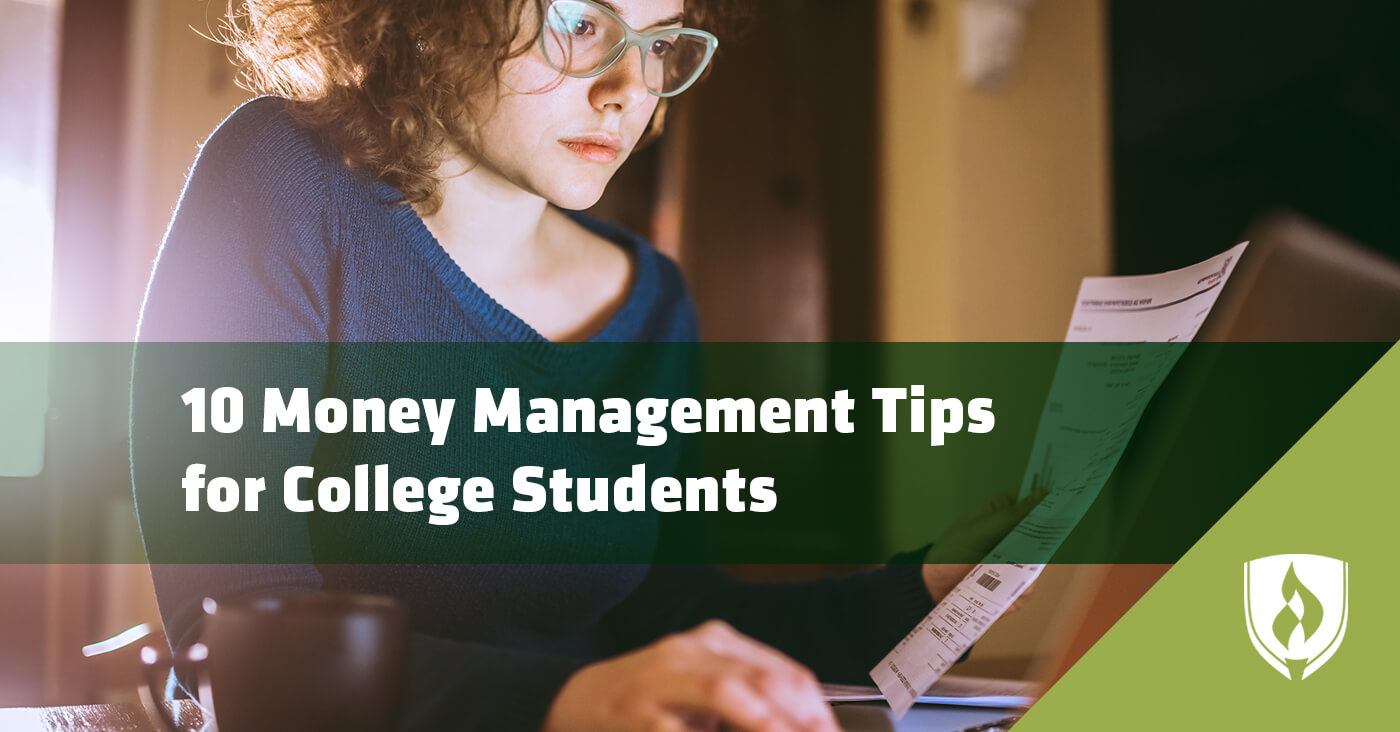 10 Money Management Tips for College Students Rasmussen College