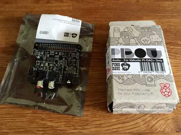 Raspberry Pi HD Audio Player