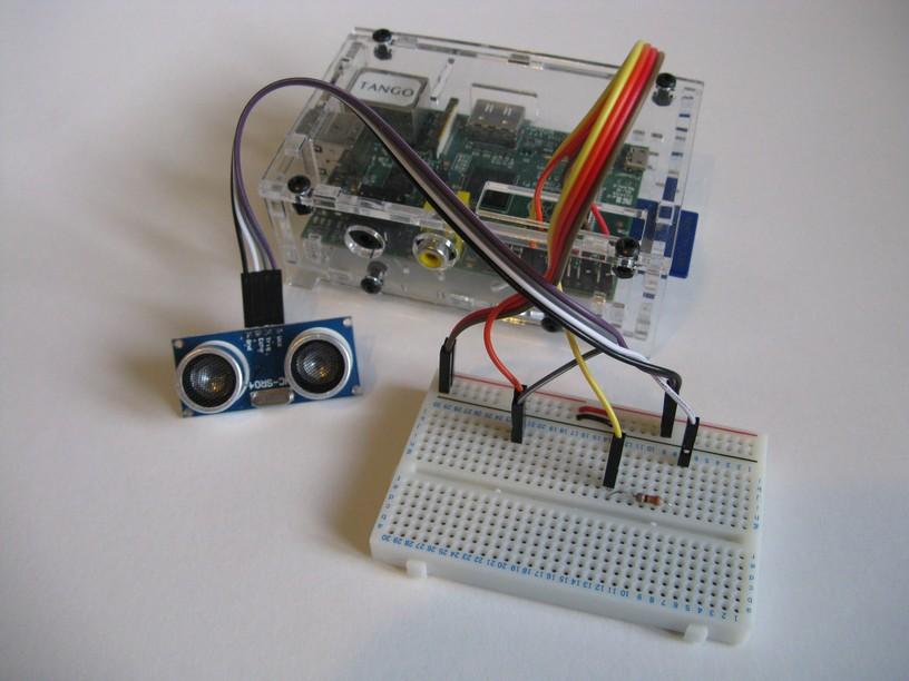 Ultrasonic Distance Measurement Using Python - Part 1 - Raspberry Pi Spy