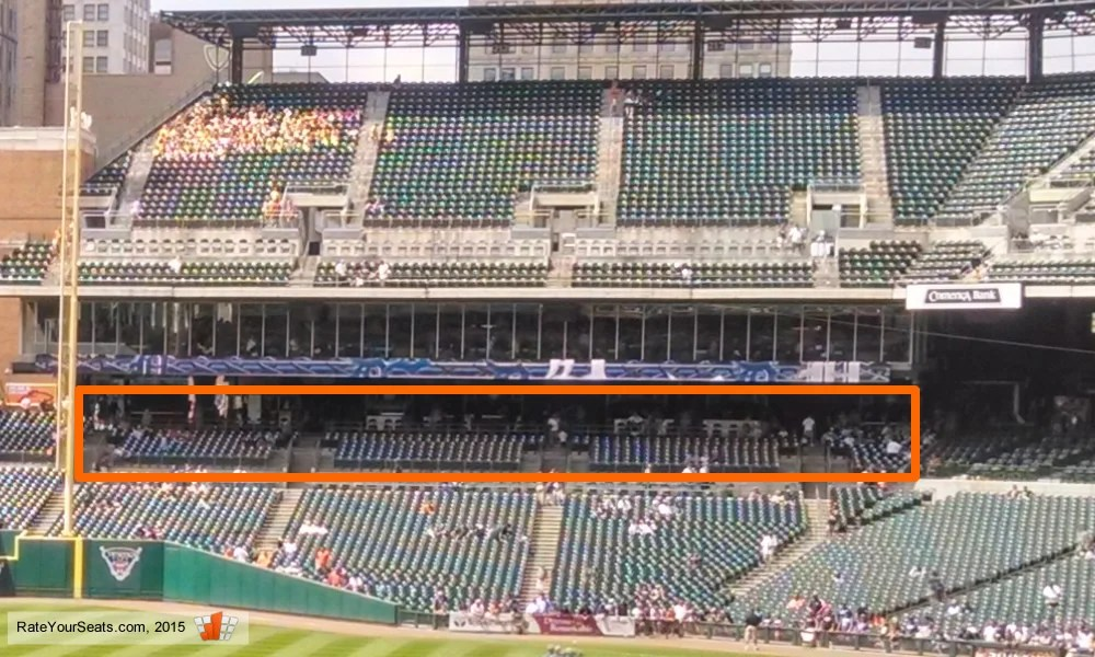 Shaded and Covered Seating at Comerica Park - RateYourSeats