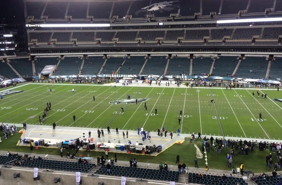Philadelphia Eagles Seating Guide - Lincoln Financial Field