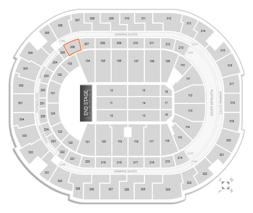 American Airlines Center Concert Seating Chart - RateYourSeats
