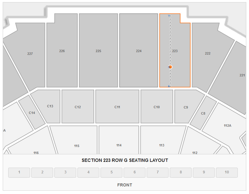 Grizzlies  Memphis FedEx Forum Seating Chart - RateYourSeats