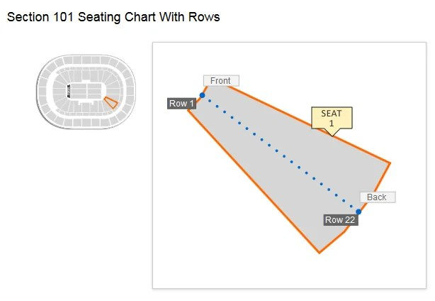 Keybank Center Seating Chart Concert Awesome Home