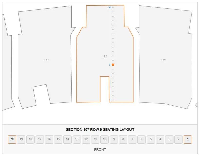 Madison Square Garden Concert Seating Chart  Interactive Map