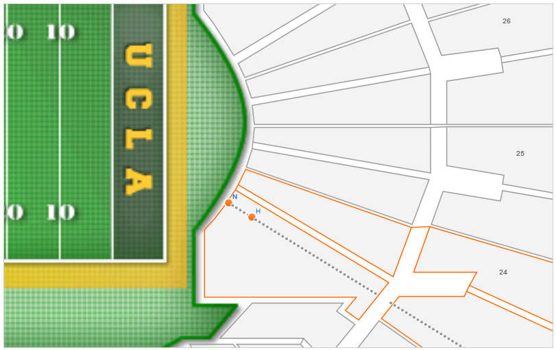 club section 103 rose bowl stadium overview_concourse top result