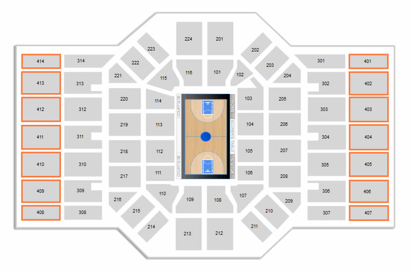Agganis Arena Seating Chart View - Arenda-stroy