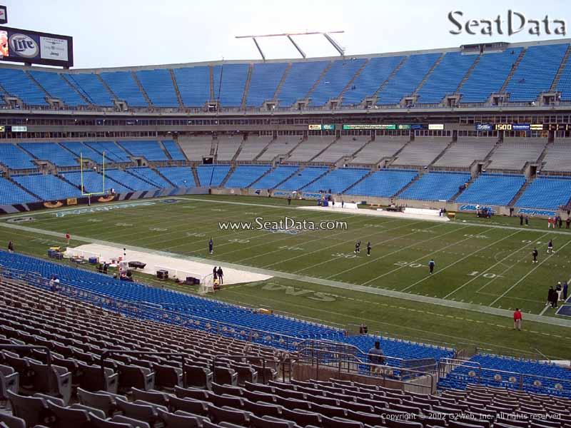 Bank of America Stadium Section 311 - RateYourSeats