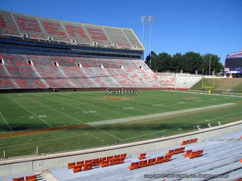 Memorial Stadium (Clemson) Section H - RateYourSeats