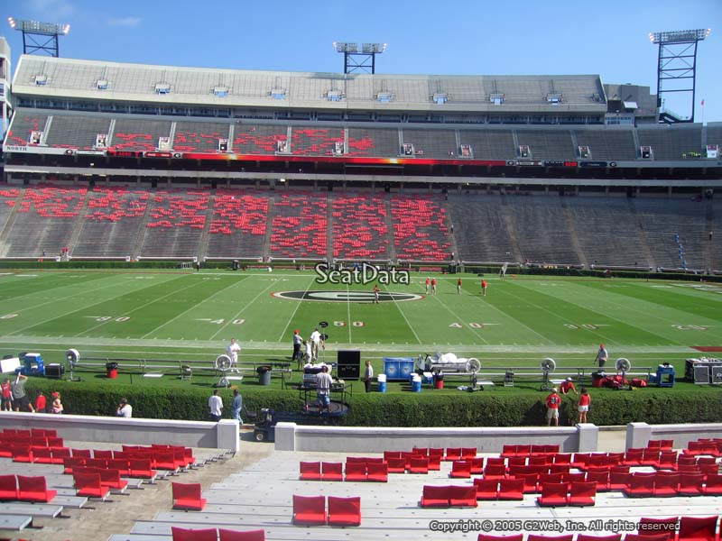 Sanford Stadium Section 131 - RateYourSeats