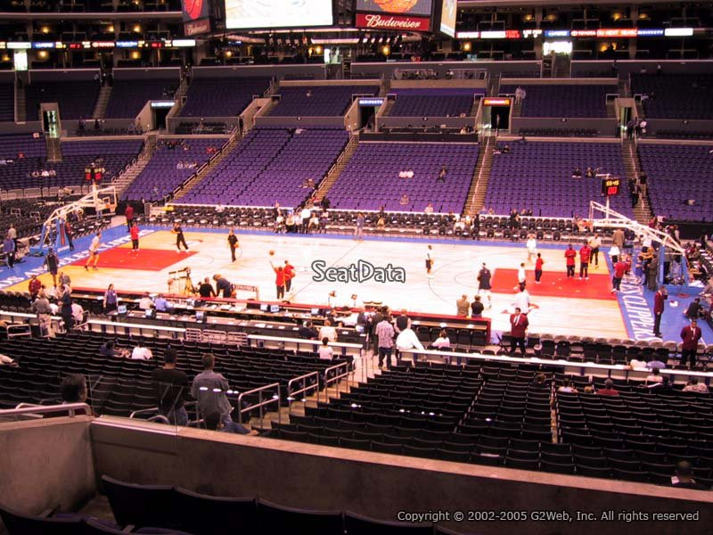 Staples Center Premier 4 - Clippers/Lakers - RateYourSeats