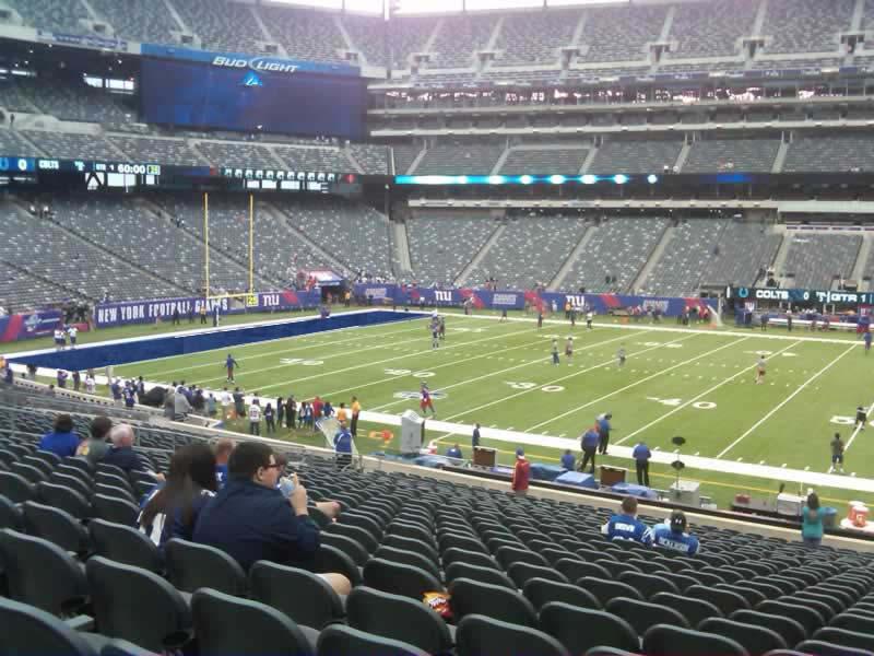 50 Yard Line Luxury MetLife Stadium Section 139 Review