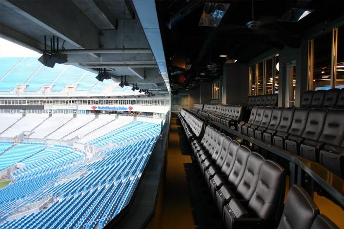 Bank of America Stadium Gridiron Club - RateYourSeats