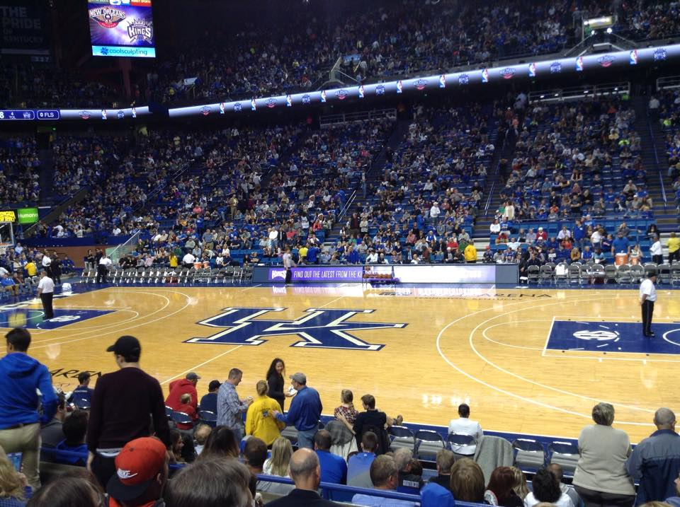 Rupp Arena Section 13 - Kentucky Basketball - RateYourSeats