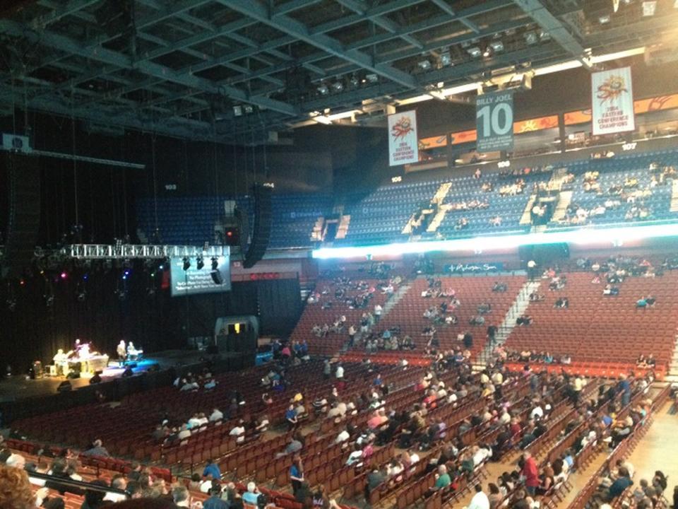 Mohegan Sun Arena Section 116 Concert Seating - RateYourSeats