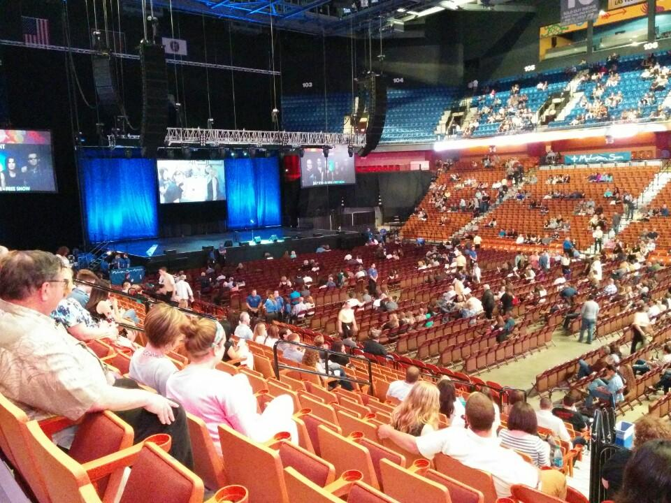 Mohegan Sun Arena Section 23 Concert Seating - RateYourSeats