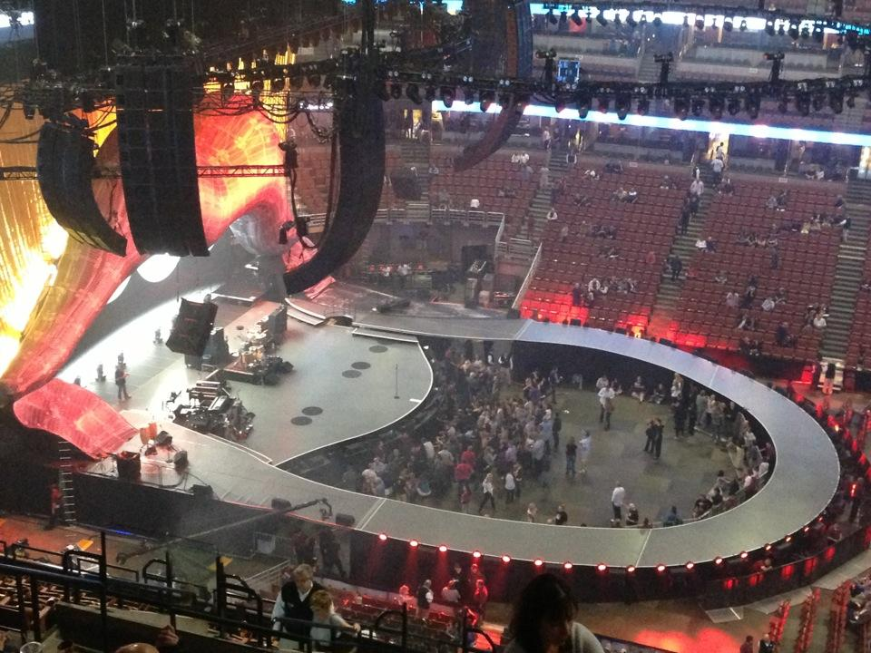Honda Center Section 412 Concert Seating - RateYourSeats