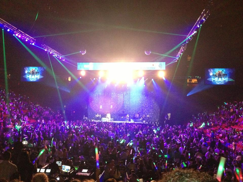 AmericanAirlines Arena Concert Seating Guide - RateYourSeats