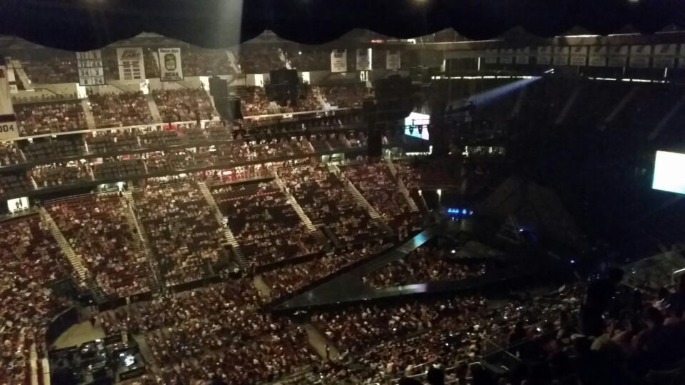 Prudential Center Section 210 Concert Seating - RateYourSeats