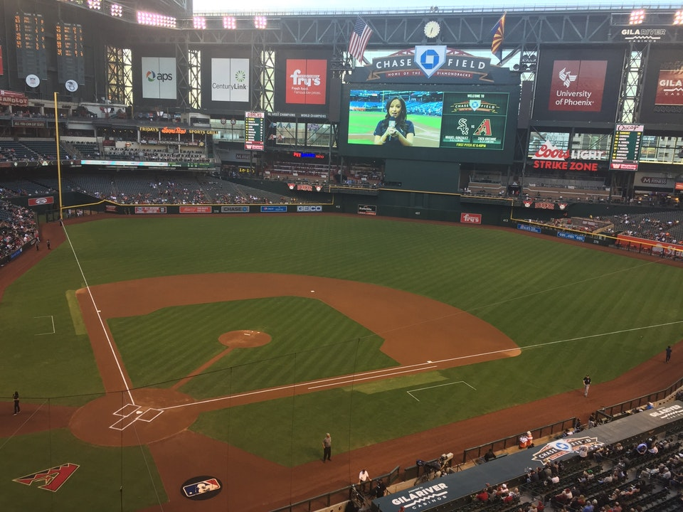 Chase Field Bleachers - Baseball Seating - RateYourSeats