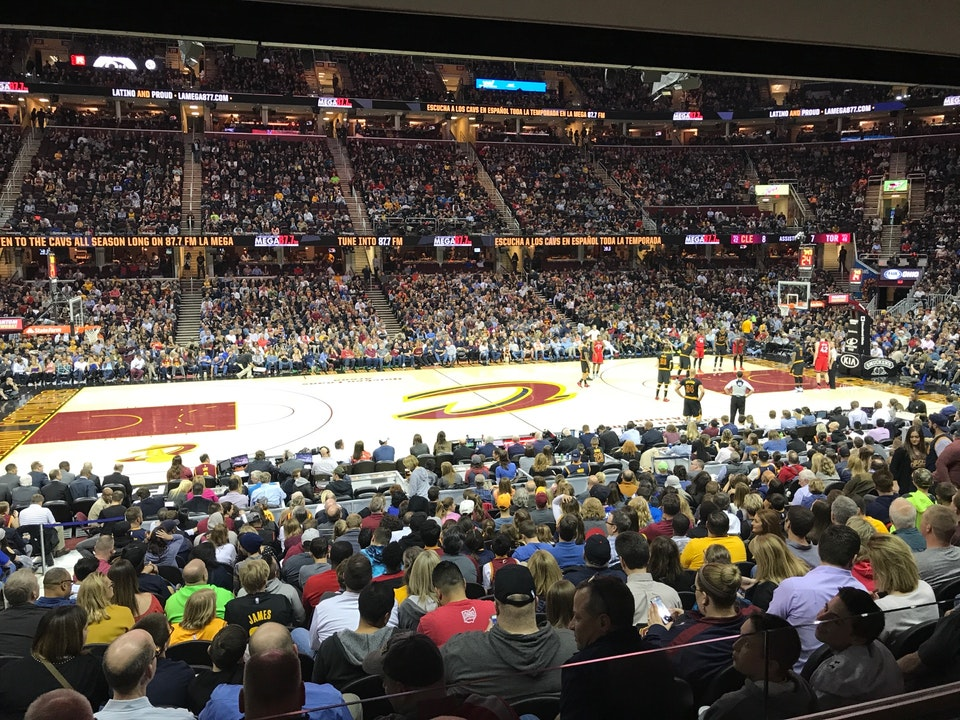 Quicken Loans Arena Section 125 - Cleveland Cavaliers