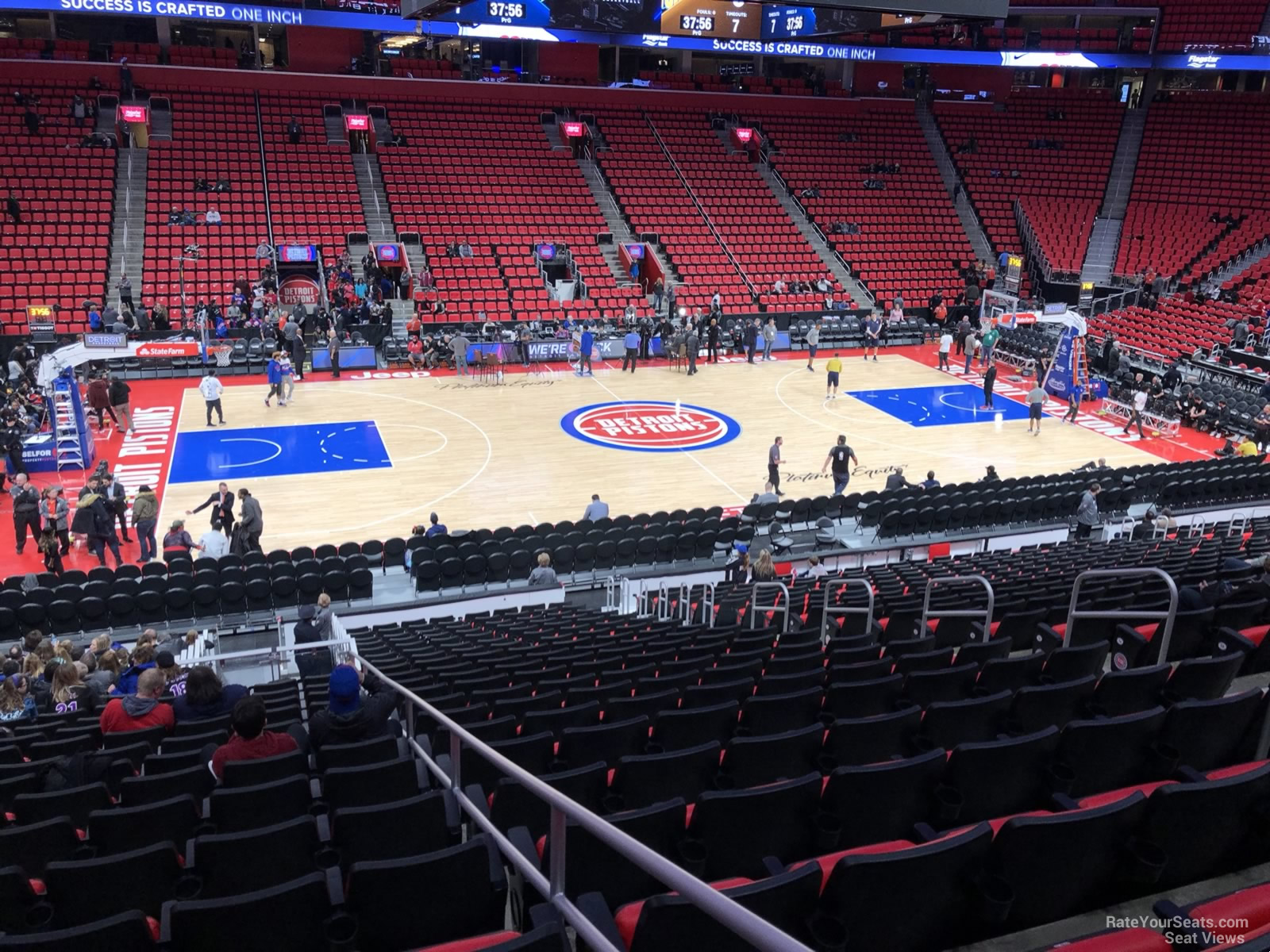 Little Caesars Arena Section 111 Detroit Pistons