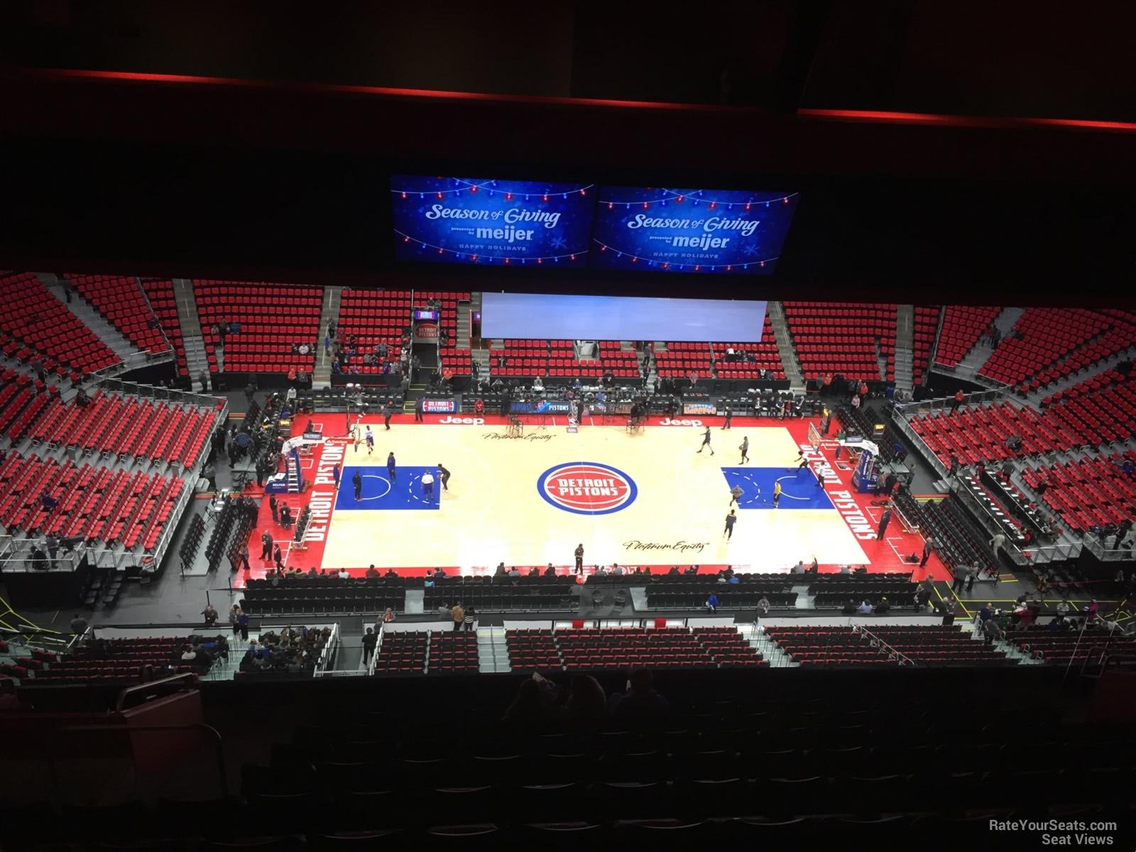 Little Caesars Arena Section 212 Detroit Pistons