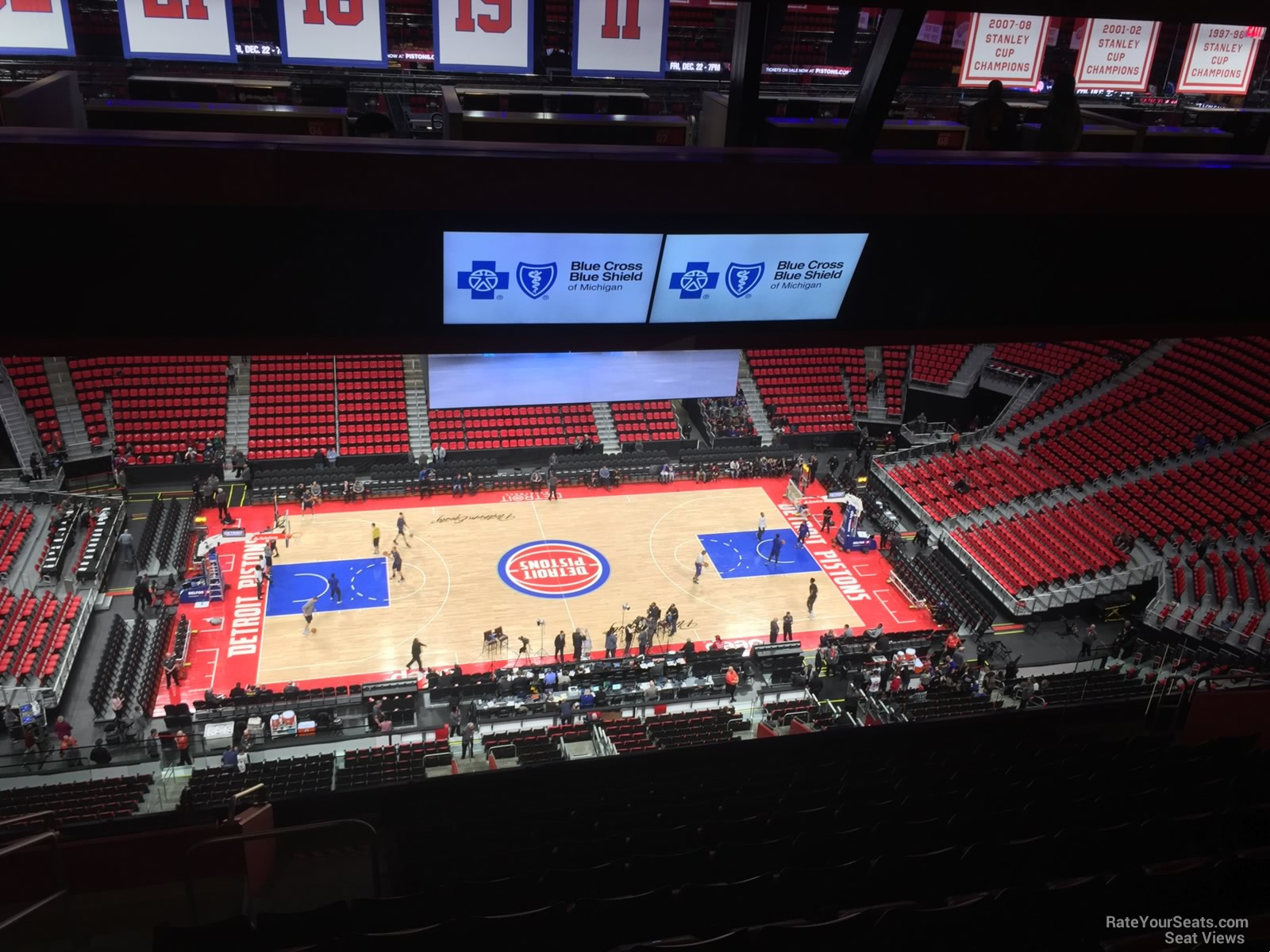 Little Caesars Arena Section 227 Detroit Pistons