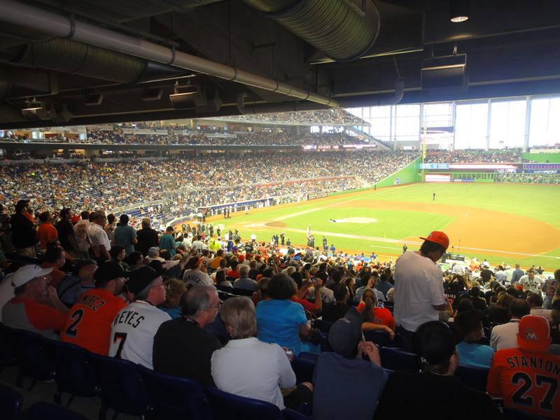 Marlins Park Section 8 - Miami Marlins - RateYourSeats