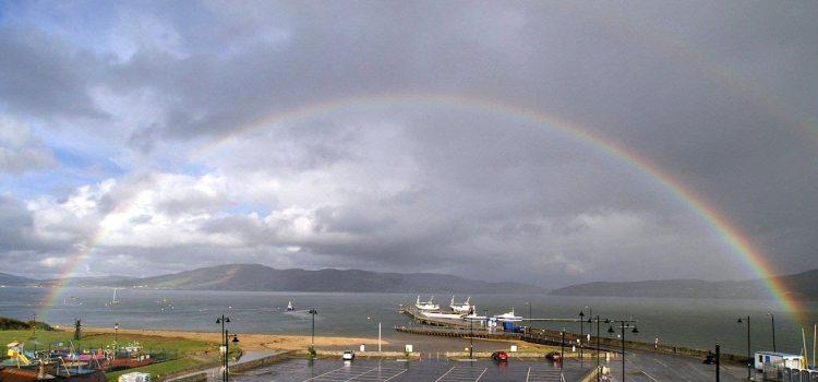 Rainbow Over Rathmullan